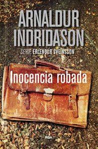 Inocencia robada, de Indridason