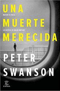 Una muerte merecida, de Peter Swanson