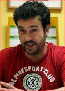 escritor Ángel Sanchidrian