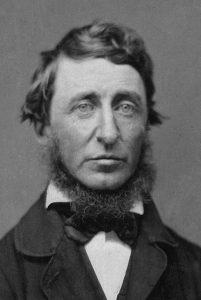 escritor Henry David Thoreau