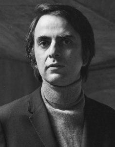 escritor Carl Sagan