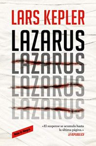Lazarus, de Lars Kepler
